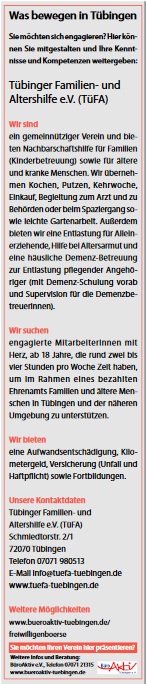 2020-01-15-TiF-Tübinger Familien- und Altershilfe e.V. (TÜFA)